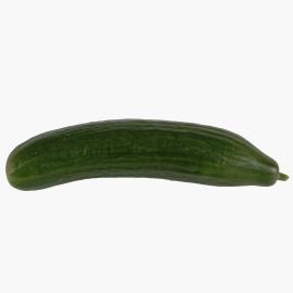 Eine garstige grüne Gurke